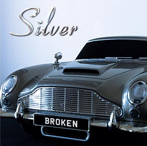 Broken CD by Silver